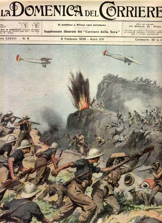 Gli Italiani Salvati Dagli Ascari Abissini Nella Battaglia di Passo Uarieu nel 1936
