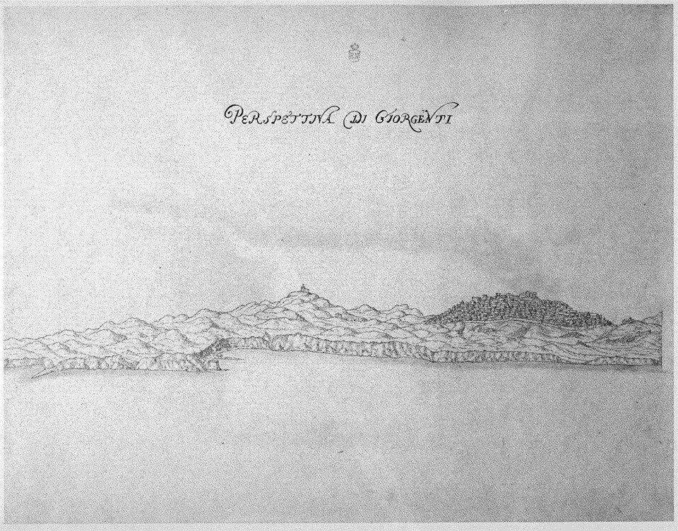 Agrigento fonti iconografiche della città e della Valle dei Templi