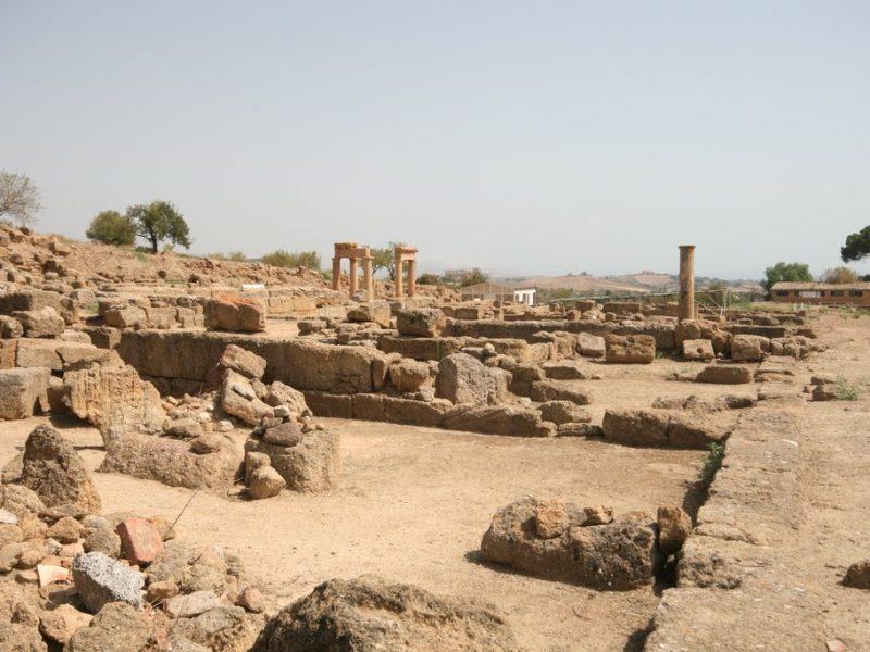 quartiere ellenistico romano