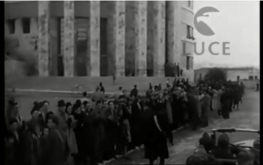 Visita del Re Vittorio Emanuele terzo in Sicilia.Video