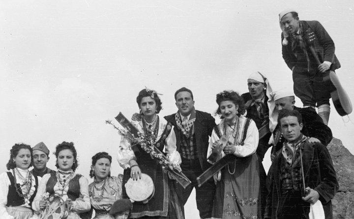 Sagra del Mandorlo in Fiore ad Agrigento nel 1957.Video