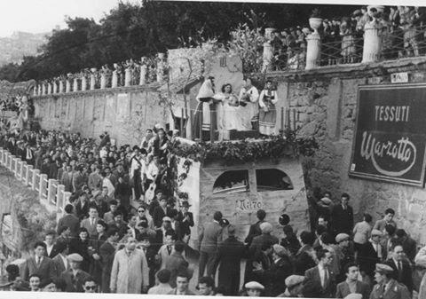 Sagra del Mandorlo in Fiore ad Agrigento nel 1950.Video