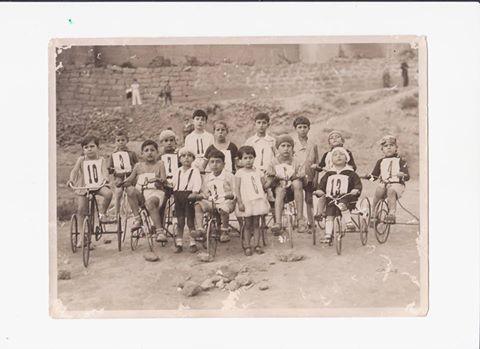 san calogero gara ciclistica per bambini 1930