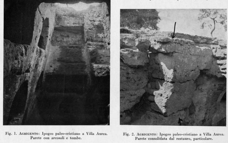 Importanti scavi nella valle dei templi negli anni for Piani di casa di roccia