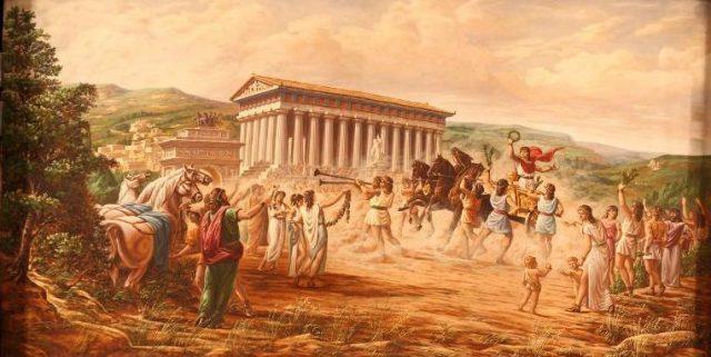 Agrigento Vincitori nelle Olimpiadi dell'antichità