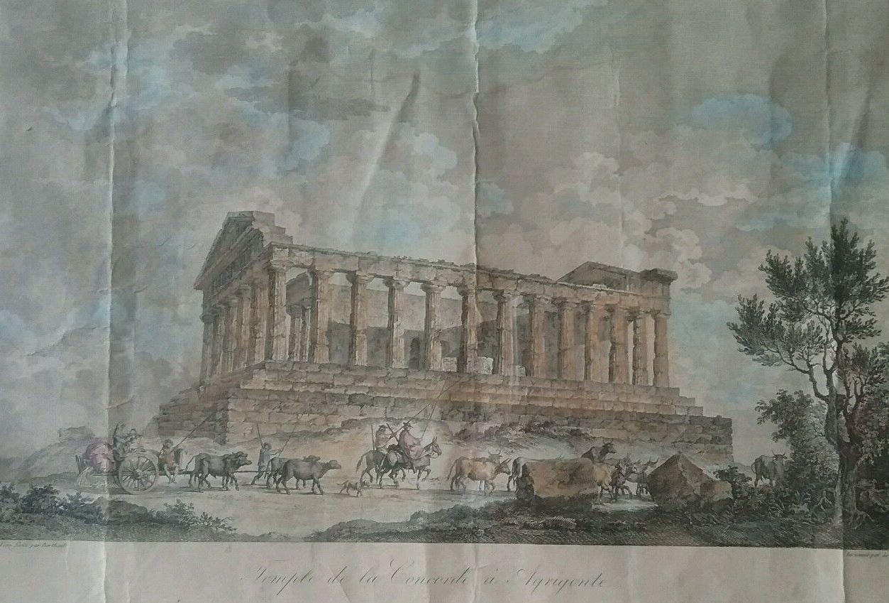 Viaggio ad Agrigento di Francesco Gandini nel 1832