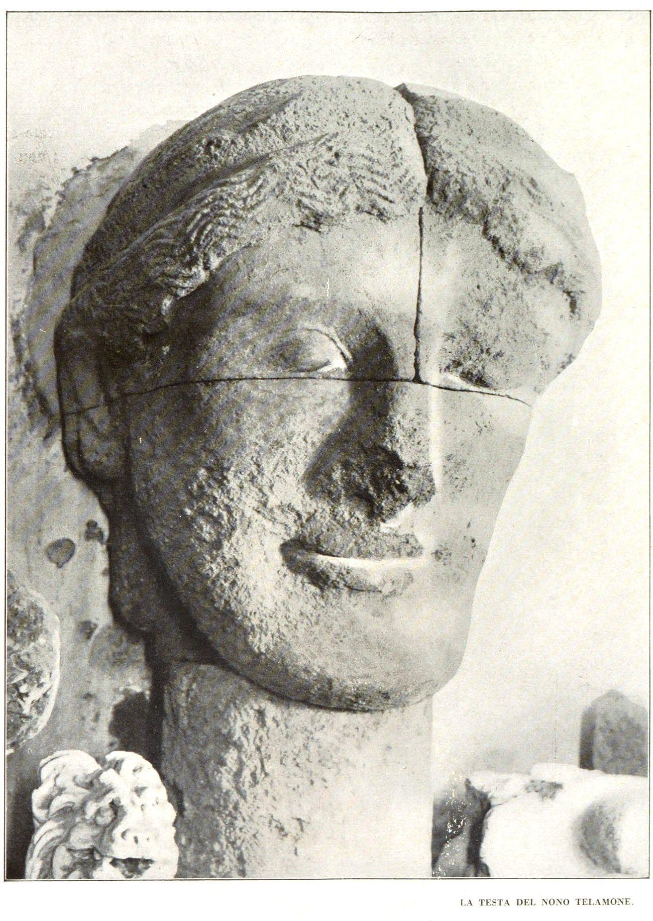 I Telamoni del Tempio di Zeus ad Agrigento