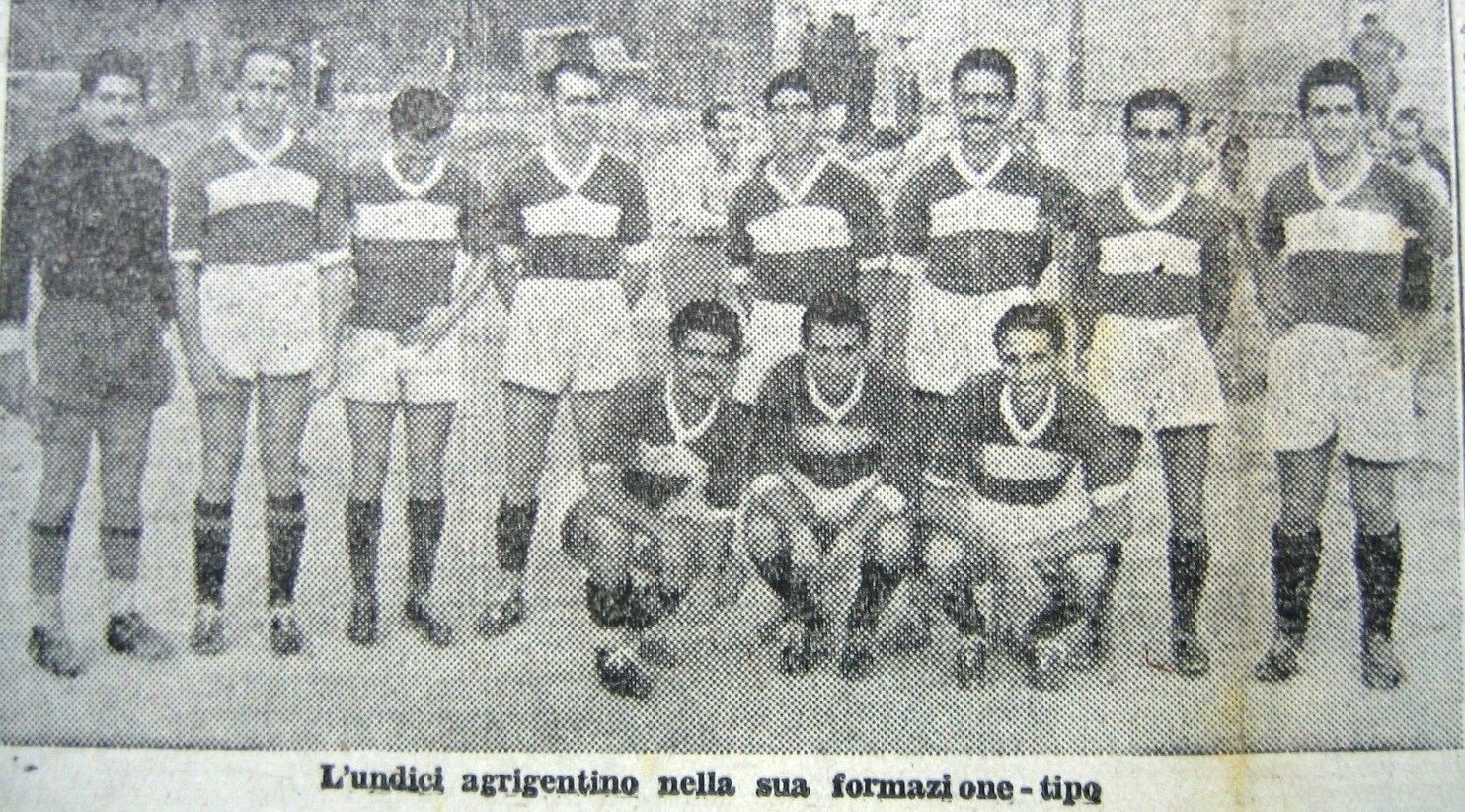 Akragas calcio Storia: 13 ottobre 1947