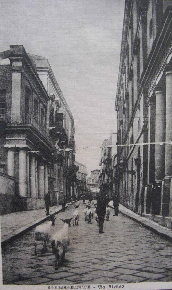 Agrigento Il fascino della via Atena nei racconti di turisti di un tempo