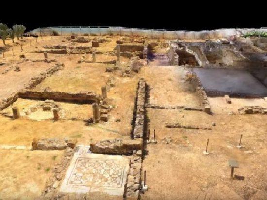 villa-romana di realmonte ricostruita