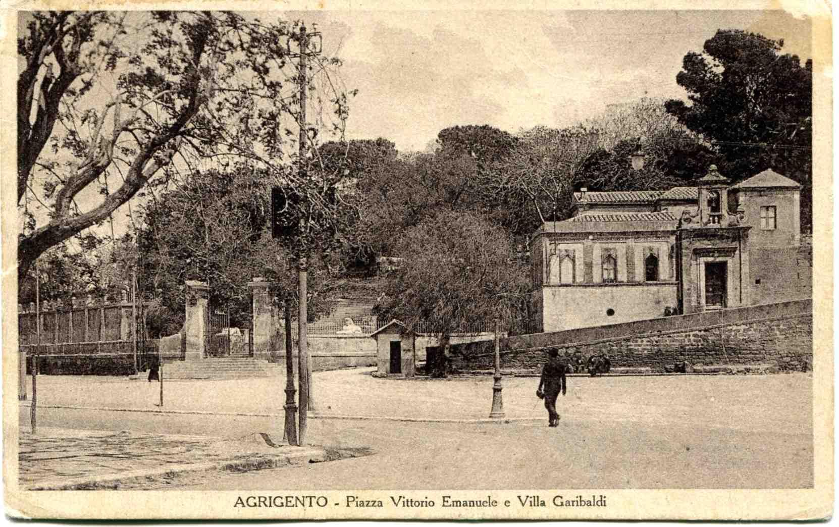 villa garibaldi agrigento