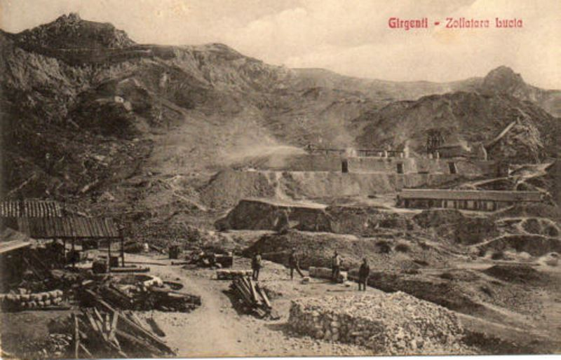 Terra gialla di Girgenti: notizie sparse sul mondo delle miniere di zolfo nell'Ottocento