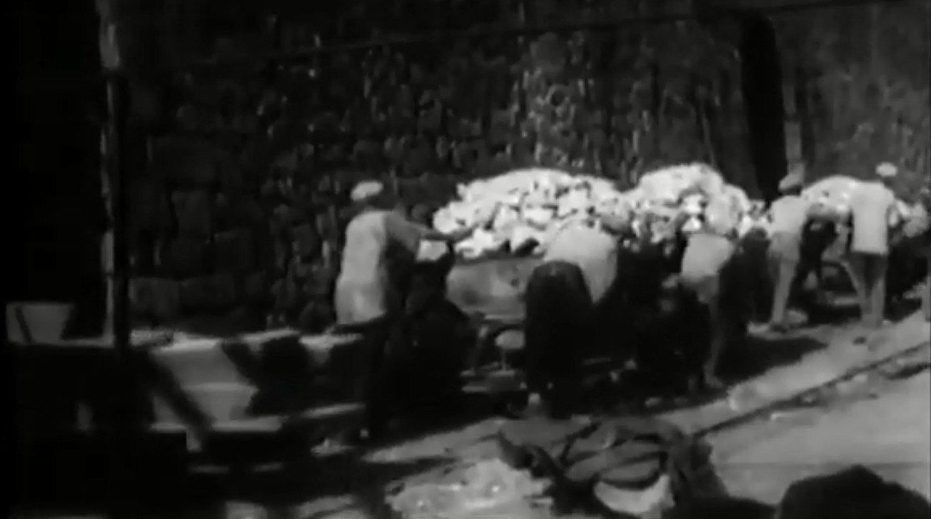 Giacimenti di zolfo in provincia di Agrigento in un video del 1936